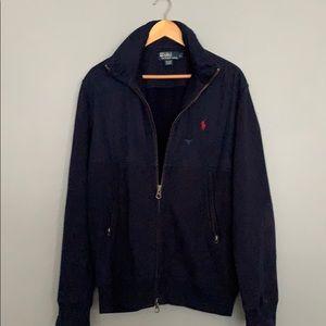 Ralph Lauren Drk Blue Size L Bomber Jacket